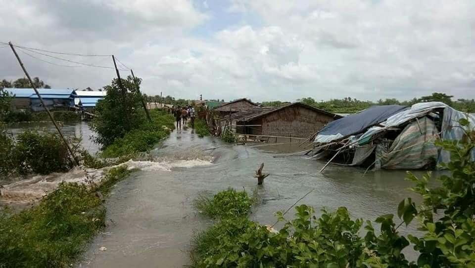 ငါးမွေးမြူရေးကန်များ ရေကြီးနစ်မြုပ်မှုမှ ကြိုတင်ကာကွယ်ရေး သတိပေးနှိုးဆော်ချက်