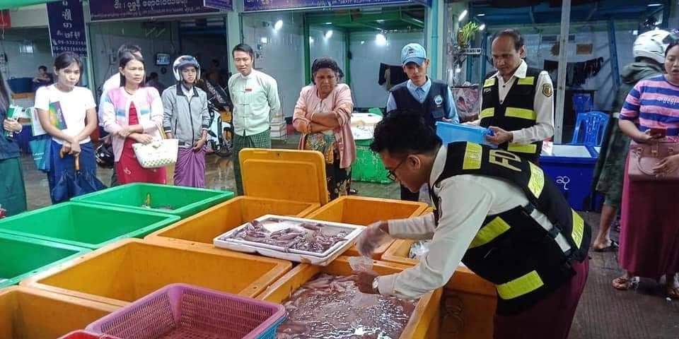 ပြည်ပမှ ဖော်မလင်နှင့် ဓါတုပစ္စည်းများ ပါဝင်သည့် ငါး၊ ပုစွန်များ ဝင်ရောက်လာမှု တားဆီးရန် သက်ဆိုင်ရာဌာနများနှင့် ပူးပေါင်းရမည်